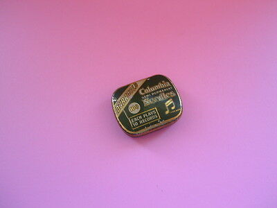 Vintage Gramophone Needle Tin - Columbi Duragold Semi Permanent Needles