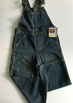 Wrangler Boys Denim Dungarees Blue Age 4 Years New