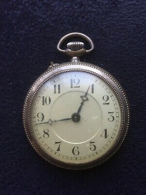 Montre à Gousset Ancienne Art Déco A réviser Swiss Made Antique Pocket Watch