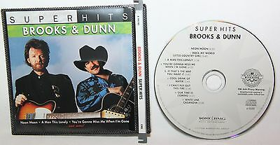 Super Hits by Brooks & Dunn (CD, Apr-2007) CD Mint Condition