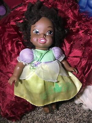 """The Disney Princess and the Frog Baby Tiana Doll  12"""" Toddler Doll"""