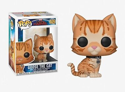 Funko Pop Captain Marvel: Goose the Cat Bobble-Head Item #36379