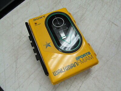 Sony Walkman FM/AM Sports WM-F45  Cassette Tape Player