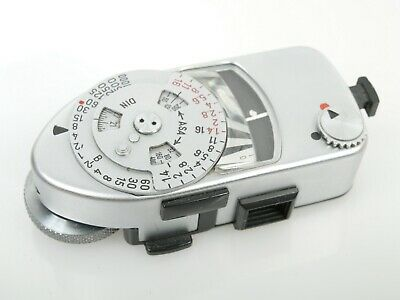 Leica-Meter MR M R chrom for Leica M4 M2 M3 M4-P M4-2 voll funktionsf. working