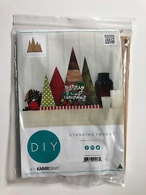 Standing Forest DIY Kaiser Craft MDF Wood Project SB2447