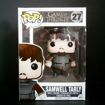 Funko Pop! Game of Thrones Samwell Tarly #27 Vaulted with protector