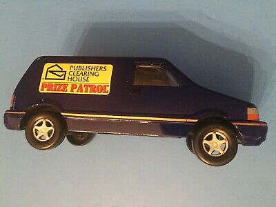 1996 PUBLISHERS CLEARING House Prize Patrol Van Piggy Bank IMG