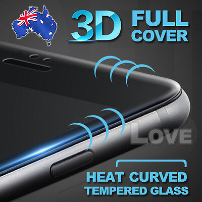 New 3D Full Cover Tempered Glass Screen Protector For Apple IPhone 6 6S 7 Plus