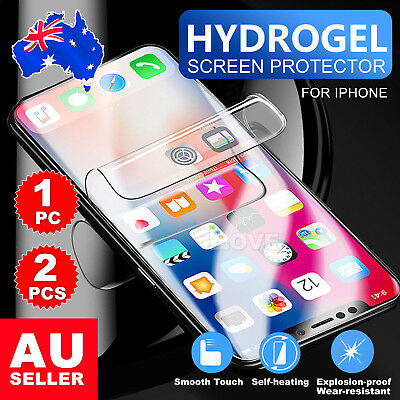 HYDROGEL AQUA CRYSTAL FLEX Screen Protector For Apple iPhone X 8 7 Plus