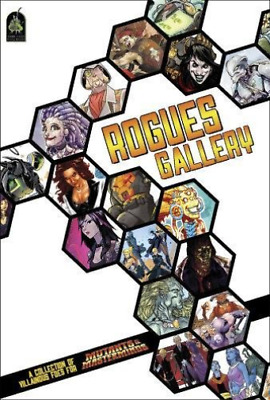 Mutants And Masterminds Rpg Rogues Gallery Sourcebook Hc (Re BOOK NEW