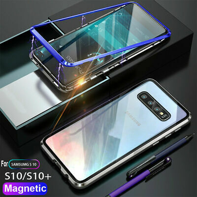 For Samsung Galaxy S10 S8 S9 Plus A50 A70 N9 360° Magnetic Adsorption Case Cover