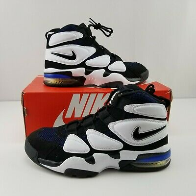7d056359ad NIKE AIR MAX Uptempo 2 SAMPLE WHITE ROYAL BLUE ORLANDO DUKE BLACK ...