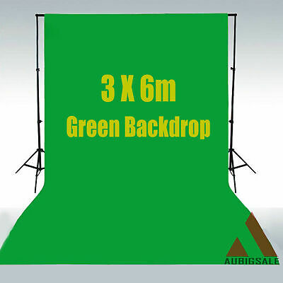 10x20 feet 3x6m  Green  Non-woven Backdrop  Photography Studio Background