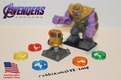 Avengers Infinity War Endgame Infinity Gauntlet with Thanos for LEGO Minifigures
