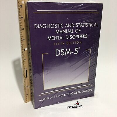 DSM-5 Diagnostic and Statistical Manual of Mental Disorders Fifth 5th Edition