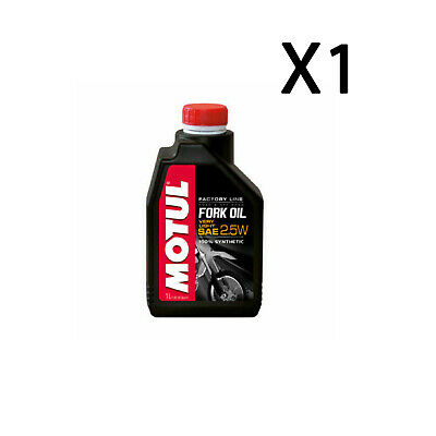 1Lt Olio Forcella Factory Line Motul Fork Oil Very Light Sae 2,5W 100% Sintetico