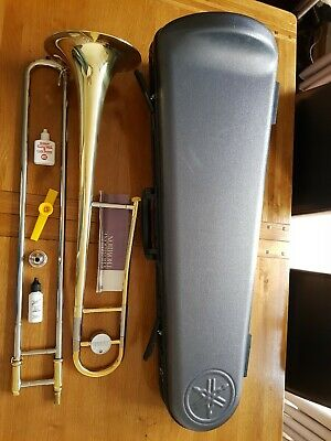 Yamaha YSL-354 Bb Tenor Trombone with Hard Case