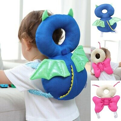 Infant Baby Walk Head Back Protection Pad Pillow Safety Child Headrest Cushion