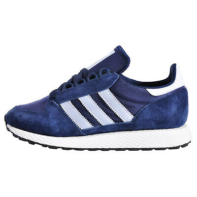 Adidas Originals Men's Forest Grove Classic Retro Running Trainers Navy