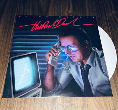 Mitch Murder - The Real Deal // Vinyl LP limited First press on White synthwave