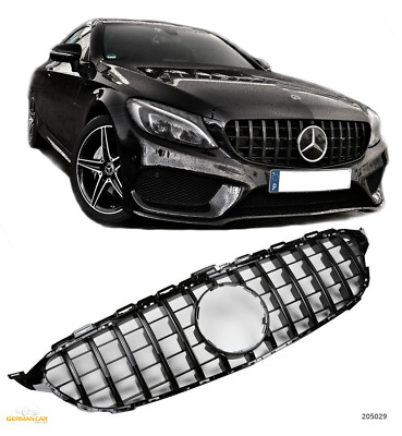 Grille Sport for Mercedes W205 C 2014+ C63 AMG GT PANAMERICANA LOOK