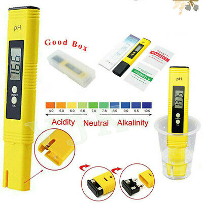 Digital LCD PH Meter Testeur Aquatique Hydroponique Aquarium Test Pen Accurate