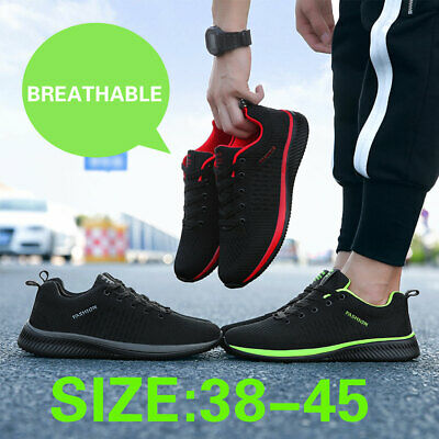 Outdoor Mens Breathable Running Sports Sneakers Athletic Casual Hiking Shoes New