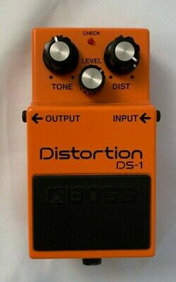 Boss DS-1 Distortion Guitar Effect Pedal - Lightly Used - Excellent Condition