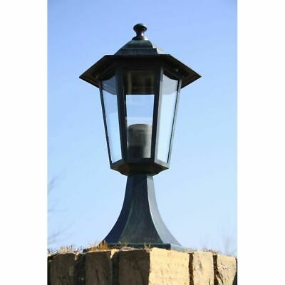 41cm vidaXL Garden Lamp Vintage Outdoor Pathway Lighting Landscape Lantern Decor