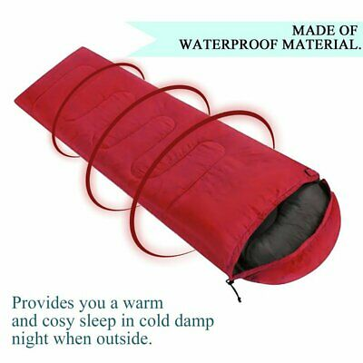 Outdoor Camping Envelope With Hooded Sleeping 〡LD