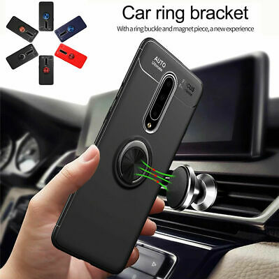 Shockproof Case For OnePlus 7 Pro Stand Case Kickstand Ring Holder Cover Case