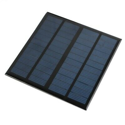 6X(Mini 12V 3W DIY Solar Panel Module For Light Battery Cell Phone Charger R9G1