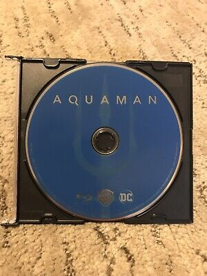 Aquaman Blu Ray Disc Only