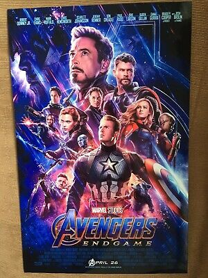 Avengers: Endgame Theatrical Release 11x17 Movie Poster (2019)