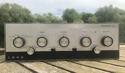 Leak Stereo 30 Vintage Integrated Amplifier Amp 1970's British made.