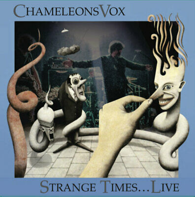 ChameleonsVox - Strange Times​.​.​.​Live! // 2xLP Vinyl coloured + Where In.. EP