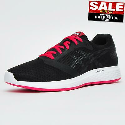 ASICS PATRIOT 10 Women's Running Shoes Fitness Gym Trainers Black