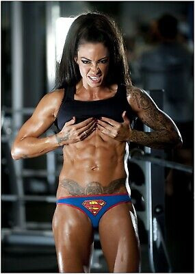 Jodie Marsh Fitness Bodybuilding Large Poster Art Print A0 A1 A2 A3 A4 Maxi
