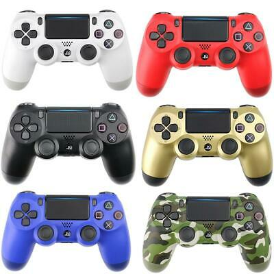 Wireless Bluetooth Dual Vibration Gamepad Game Controller For PS4 Play Station 4