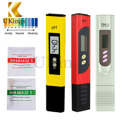 PH Digital Meter/TDS LCD Tester Lab/PH Test paper For Aquarium Pool Hydroponic