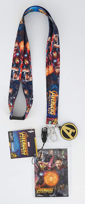 Deluxe Marvel Avengers Infinity War Lanyard with card holder