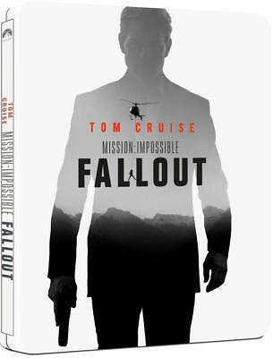 Mission: Impossible - Fallout [Blu-ray +Disc Steelbook]  English, Hebrew tc