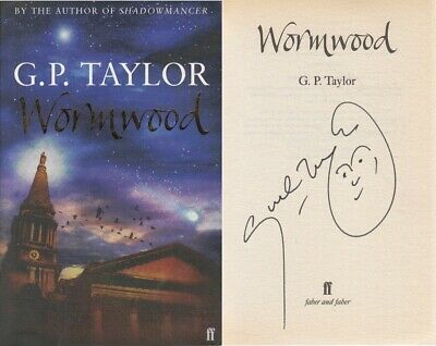 Wormwood by G. P. Taylor - G P Taylor - SIGNED - Good - Paperback