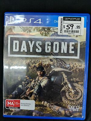 Days Gone - Playstation 4 Like new (C)