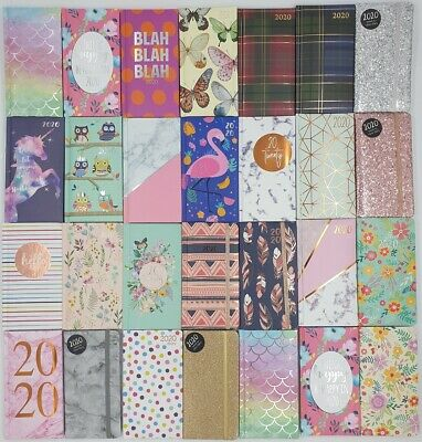 2019-2020 Slim Size Academic Diary Mid-Year Week to View WTV Planner home/school