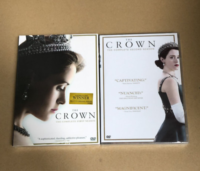 The Crown: The Complete Seasons 1 & 2 (DVD, 2018, 8-Disc Set)