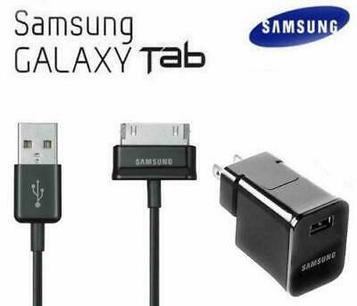 Samsung Galaxy Tab 2 7.0 7.7 8.9 10.1 Note Tablet OEM USB Wall Charger & Cable