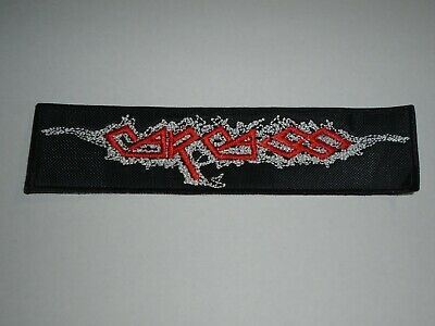 Carcass Old Logo Embroidered Patch