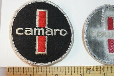 """Chevy Chevrolet Camaro Iron-On Embroidered Patch 3"""""""