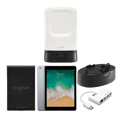 "Sling Studio Hub Ultimate Bundle with 9.7"" iPad, CameraLink, Battery, and USB-C"